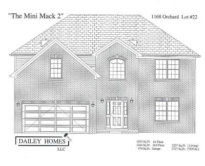 Nicholasville Single Family Home For Sale: 1168 Orchard Drive