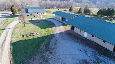 Garrard County Single Family Home For Sale: 4095 Hamilton Valley Road