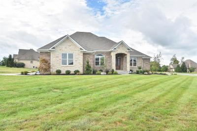 Nicholasville Single Family Home For Sale: 100 Mill Rock Road