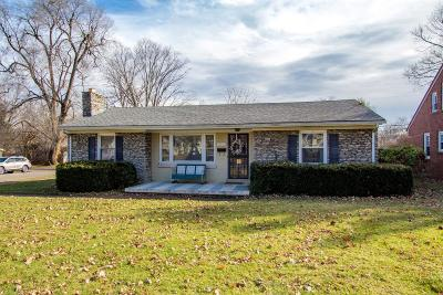 Lexington Single Family Home For Sale: 2220 Clays Mill Road