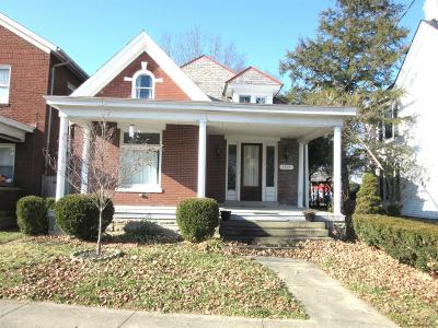 Paris KY Single Family Home For Sale: $164,500