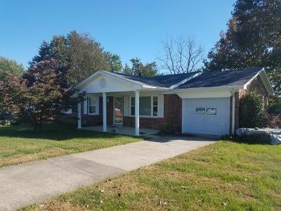 Richmond KY Single Family Home For Sale: $137,900