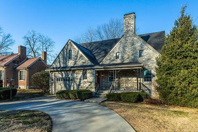 Lexington Single Family Home For Sale: 1490 Tates Creek Road