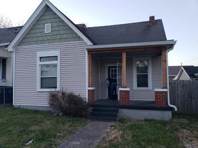 Lexington Single Family Home For Sale: 653 Jackson Street