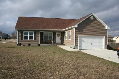 Lawrenceburg Single Family Home For Sale: 1601 Hannah Drive