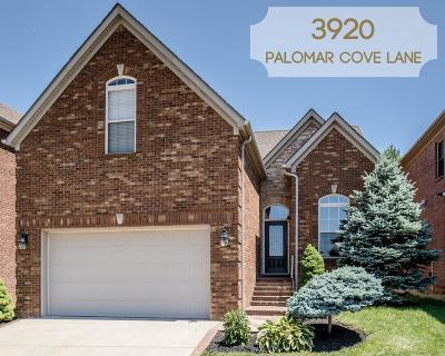 Single Family Home For Sale: 3920 Palomar Cove Lane