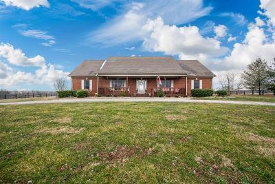 Harrodsburg Single Family Home For Sale: 423 Mt Pleasant Road