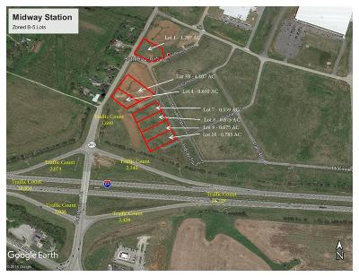 Anderson County, Fayette County, Franklin County, Henry County, Scott County, Shelby County, Woodford County Commercial Lots & Land For Sale: 681 Midway Station