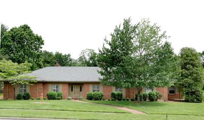 Lexington Single Family Home For Sale: 810 Chinoe Road