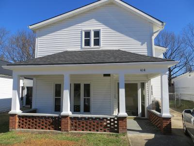Frankfort Single Family Home For Sale: 414 Noel Avenue