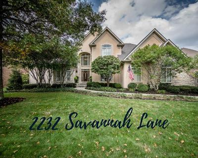 Lexington Single Family Home For Sale: 2232 Savannah Lane