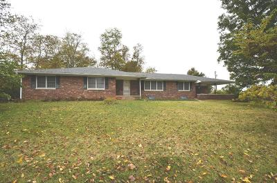 Harrodsburg Single Family Home For Sale: 896 S Highway 33