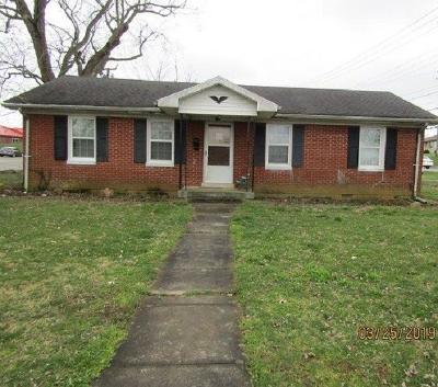 Lawrenceburg Single Family Home For Sale: 135 Chautauqua Street