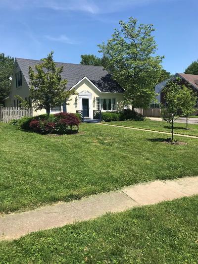 Lexington Single Family Home For Sale: 1229 Cooper Drive