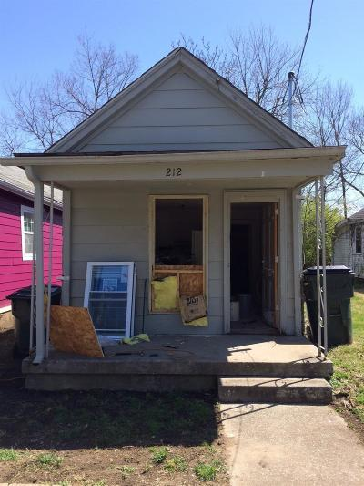 Single Family Home For Sale: 212 Race Street