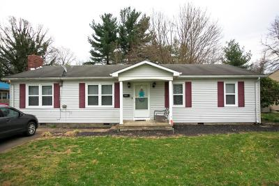 Berea Single Family Home For Sale: 108 Dinsmore Street