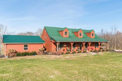 Paris Single Family Home For Sale: 145 Kerrsville Lane