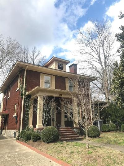 Bourbon County, Fayette County, Harrison County, Scott County, Woodford County Single Family Home For Sale: 215 Irvine Road