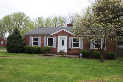 Single Family Home For Sale: 2300 Harrodsburg Road