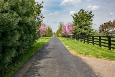 Anderson County, Fayette County, Franklin County, Henry County, Scott County, Shelby County, Woodford County Farm For Sale: 4343 Mt Horeb Pike