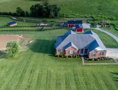 Anderson County, Fayette County, Franklin County, Henry County, Scott County, Shelby County, Woodford County Farm For Sale: 696 Pea Ridge Road