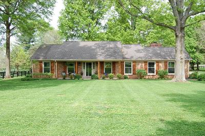 Nicholasville Single Family Home For Sale: 1500 Woods Road