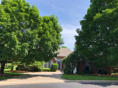 Lexington Single Family Home For Sale: 1366 Estates Hill Circle