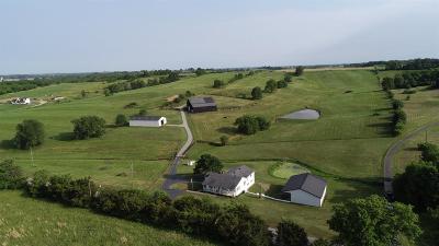 Harrodsburg Single Family Home For Sale: 298 Dix Dam Road