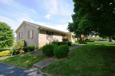 Harrodsburg Single Family Home For Sale: 751 E Lexington Street