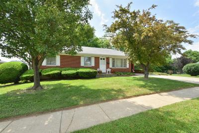 Harrodsburg Single Family Home For Sale: 528 Ada Drive