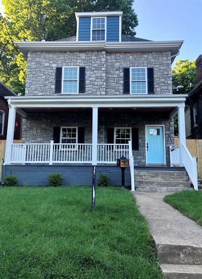 Single Family Home For Sale: 454 N Martin Luther King Boulevard