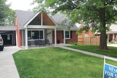 Lexington Single Family Home For Sale: 333 E Lowry Lane
