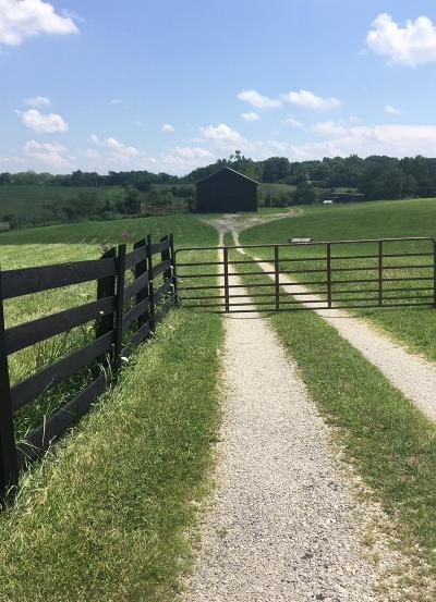 Anderson County, Fayette County, Franklin County, Henry County, Scott County, Shelby County, Woodford County Farm For Sale: 1860 Cardwell Lane
