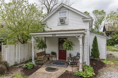 Paris Single Family Home For Sale: 116 Mt. Sterling Road