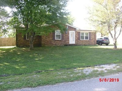 Lawrenceburg Single Family Home For Sale: 114 West End Drive