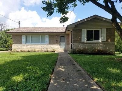 Cynthiana KY Single Family Home For Sale: $137,500