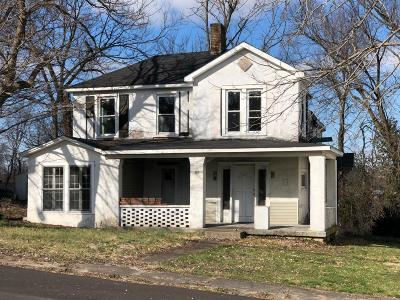 Harrodsburg Single Family Home For Sale: 467 W Broadway