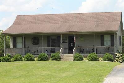 Harrodsburg Single Family Home For Sale: 1200 Bruners Chapel Road