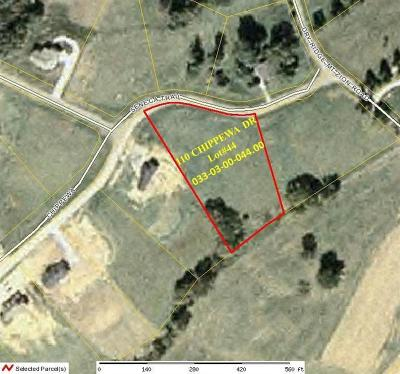 Grant County Residential Lots & Land For Sale: Chippewa Drive