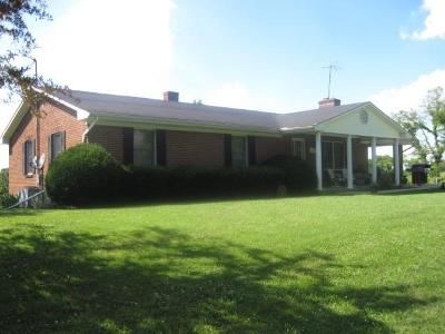 Owen County Single Family Home For Sale: 15760 New Columbus Road