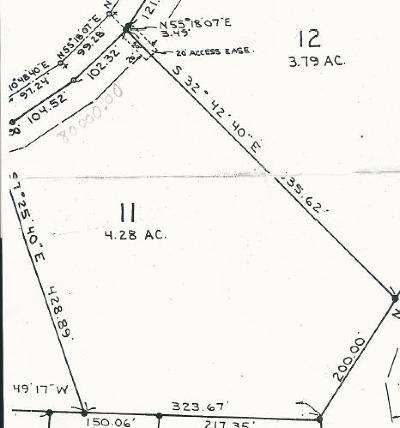 Union Residential Lots & Land For Sale: Big Bone Road Lot 11