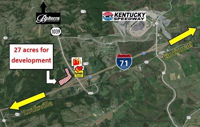 Sparta Residential Lots & Land For Sale: Ky 1039 & I-71