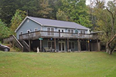 Owen County Single Family Home For Sale: 445 Elk Lake Resort Lots 972 & 973 Road