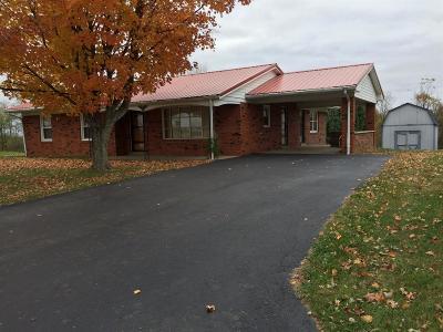 Owen County Single Family Home For Sale: 595 E Adair Street