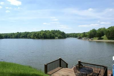Owen County Single Family Home For Sale: 445 Elk Lake Resort Lot 1346
