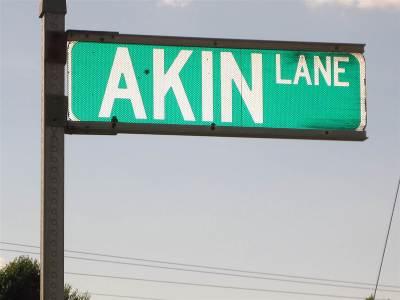 Burlington Residential Lots & Land For Sale: Akin Lane