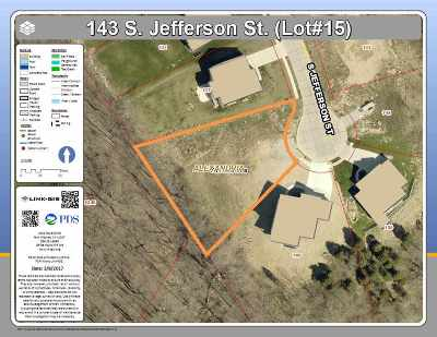 Alexandria Residential Lots & Land For Sale: 143 S Jefferson Street #lot15