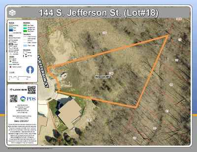 Alexandria Residential Lots & Land For Sale: 144 S Jefferson Street #lot18