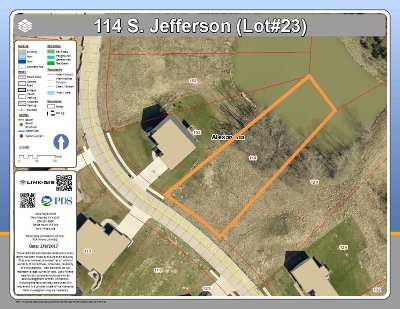 Alexandria Residential Lots & Land For Sale: 114 S Jefferson Street #lot23