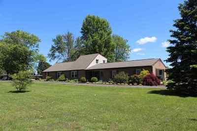 Burlington Single Family Home For Sale: 6516 Camp Ernst Road